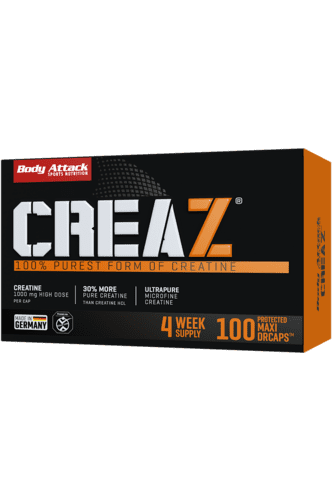 Body Attack CREAZ - 100 Caps