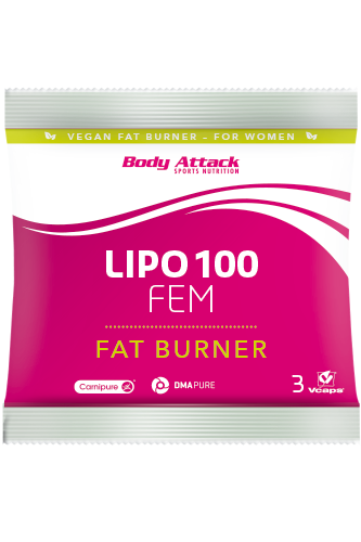 Body Attack LIPO 100-FEM - 3 Caps