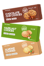 Body Attack Low Sugar Cookies - 115g - 3er Pack