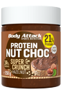Body Attack Protein Nut Choc Super Crunch - 250g