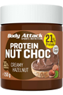 Body Attack Protein Nut Choc Creamy Hazelnut - 250g