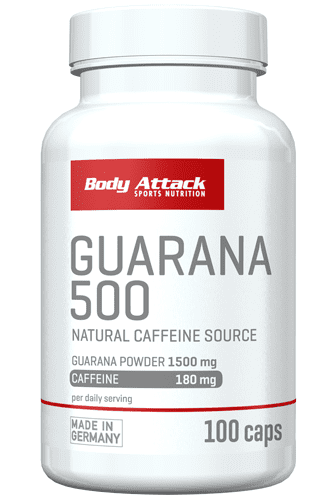 Body Attack Guarana 500 - 100 Caps